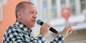 Erdoğan: Bunun adı teröre destek vermek