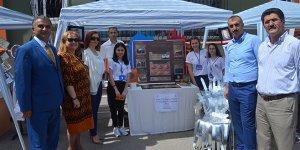 Mudanya'da öğrencilerden bilim fuarı