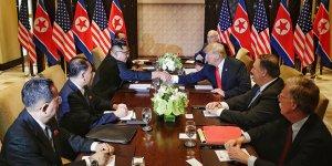 Trump ve Kim'den 'kapsamlı anlaşma'ya imza