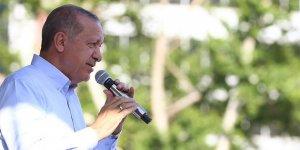 Erdoğan'dan İnce'nin Diyarbakır mitingine ilişkin açıklama