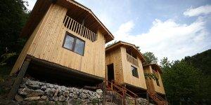 'Balıkçı Abdullah'ın bungalovları kırsal mahalleye turist getirecek