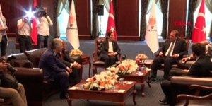 CHP ve MHP heyetinden AK Parti'ye ziyaret