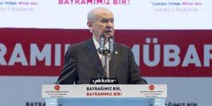 Bahçeli'den 'oy oranı'nda düşüş iddialarına tepki