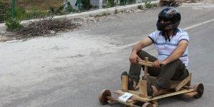 Tahta yarış arabalarıyla ralli heyecanı