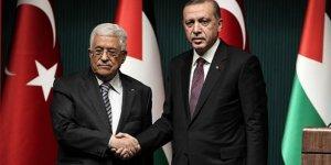 Filistin Devlet Başkanı Abbas'tan Erdoğan'a tebrik
