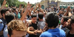Tahran'da gösteriler başladı