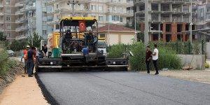 Mudanya'da bozulan yollara asfalt