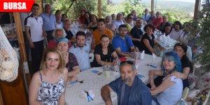 Edebiyatçılar 'Öykü Tepesi'nde buluştu