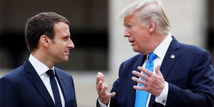Trump'tan Macron'a: AB'den ayrılın