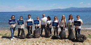 Limak Enerji Çevre Koruma Timi sahilleri de koruyor