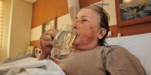 23 yıl sonra doya doya içti...