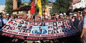 Sivas'ta ölenler Bursa'da anıldı