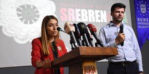 Srebrenitsa şehitleri, Bursa'da anıldı