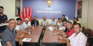 AK Parti'ye Kestel'de yeni katılım