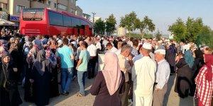 Yenişehir'den ilk hac kafilesi yola çıktı