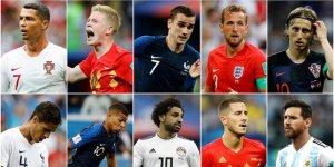 FIFA, yılın oyuncusu adaylarını açıkladı