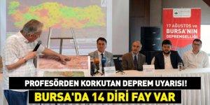 Bursa'nın depremselliği Osmangazi'de ele alındı