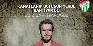 Bursaspor Ediz'i unutmadı!