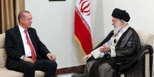 Cumhurbaşkanı Erdoğan, Hamaney ile görüştü