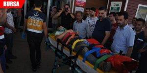 Traktör şarampole devrildi, baba öldü oğlu yaralı