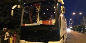 Yolcular şikayet etti, olası facia önlendi