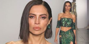New York Fashion Week'te bir Türk! 3 haftada 6 kilo verdi