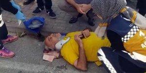 Bursa'da talihsiz kaza