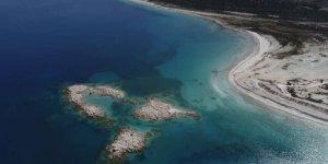 Burası Türkiye'nin Maldivleri! Binlerce kişi akın etti