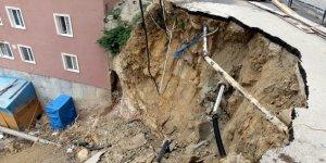 Mudanya'da göçük endişesi