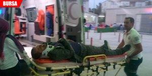 Kazada yaralandı, tedavisinden sonra gözaltına alındı