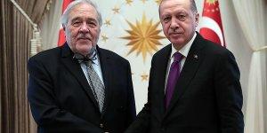 Cumhurbaşkanı Erdoğan İlber Ortaylı'yı kabul etti
