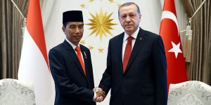 Erdoğan'dan Endonezya Cumhurbaşkanı Widodo'ya Taziye
