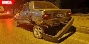 Akıl almaz kaza! Arızalı aracını iterken...