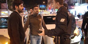 Bursa'da dolmuş şoförleri yol kapattı