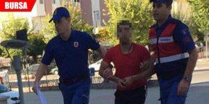 Jandarma şüphelenip durdurdu! Hemen gözaltına alındı