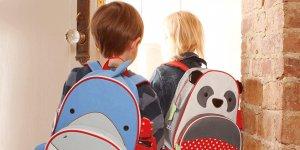Okul çantasına dikkat
