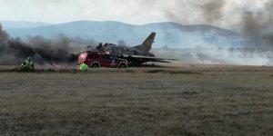 Yenişehir Havalimanı'nda nefes kesen tatbikat