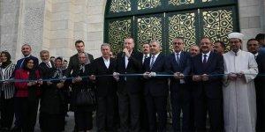 Hulusi Akar Cami ve Külliyesi törenle açıldı