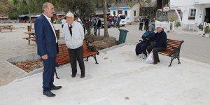 Atatürk Parkı Tirilye'ye yakışacak