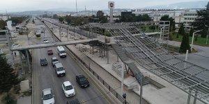 Bursa Tramvay Yolundan Tehlikeli Geçişe Tepki
