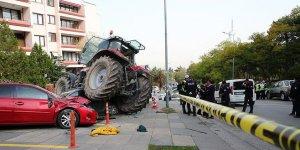 TBMM yakınında hareketlilik: Durmayan traktöre ateş açıldı