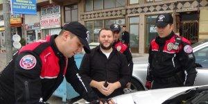 Bursa'da 369 araca 80 bin lira ceza