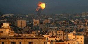 İsrail uçakları bomba yağdırdı