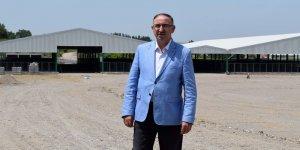 Mustafakemalpaşa'ya 5 milyon TL'lik hayvan pazarı