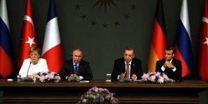 Suriye konulu dörtlü zirvenin bildirisi yayımlandı