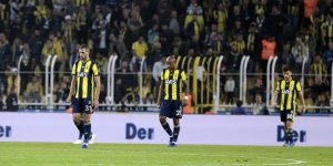 Fenerbahçe Ankaragücü'ne mağlup oldu