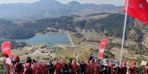 Türk Bayrağı zirvede dalgalandı