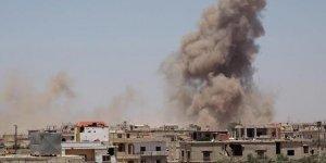 Deyrizor'a hava saldırısı