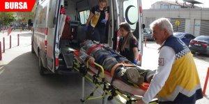 İnşaattan düşen usta yaralandı