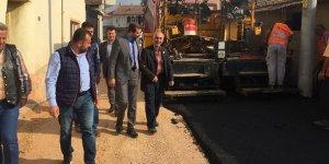 Gürsu'nun yeni mahallelerine asfalt